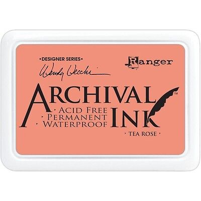 Archival Ink Pad - Wendy Vecchi Designer Series - Tea Rose