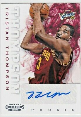 Tristan Thompson Cleveland Cavaliers 2012-13 Contenders Rookie Ticket Auto Rc Sp