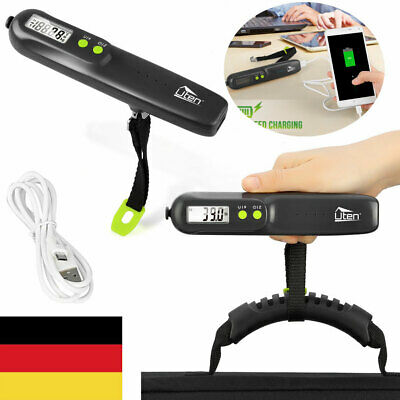 50KG Digitale Kofferwaage Gepäckwaage Reisewaage Handwaage Koffer Luggage Scale