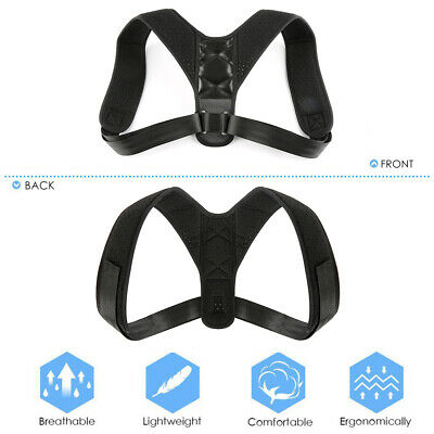 2/3PCS Body Wellness Posture Corrector braces posture support back shoulder belt