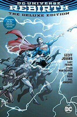 DC Universe Rebirth Deluxe Edition HC, Johns 9781401270728 Fast Free Shipping..
