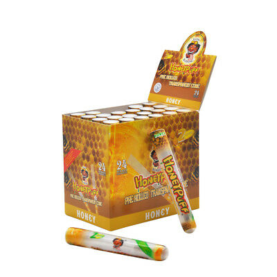 3 X HONEYPUFF 1 1/4 Honey Flavored Pre Rolled Cones Cigarette Rolling Cone Paper