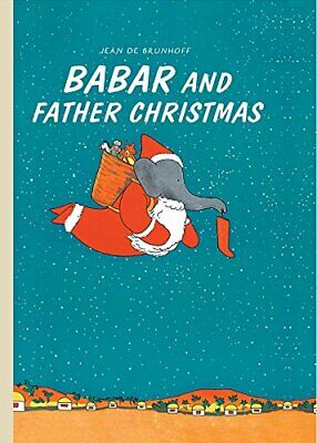Babar and Father Christmas, Jean De Brunhoff, Excellent