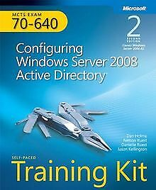 MCTS Self-Paced Training Kit (Exam 70-640): Configuring ... | Buch | Zustand gut