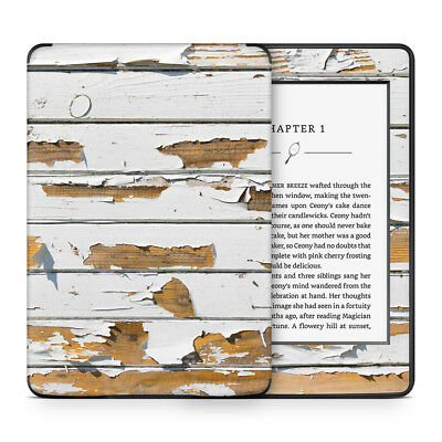 Grunge Wood Panels Vinyl Skin Sticker Wrap to Cover Protect & Personalise Kindle