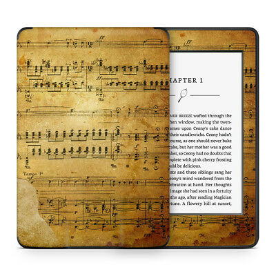 Vintage Music Sheet Vinyl Skin Sticker to Cover, Protect & Personalise Kindle