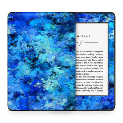 Blue Abstract Vinyl Skin Sticker Wrap to Cover, Protect & Personalise Kindle