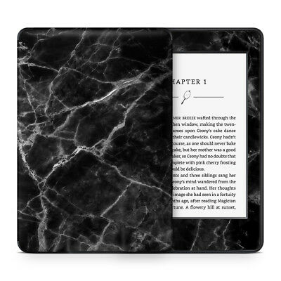 Black Marble Vinyl Skin Sticker to Cover, Protect & Personalise Kindle eReader