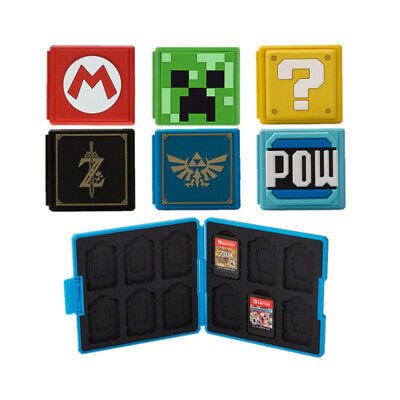 OEM for Nintendo Switch Game Card Case Holder Storage Box Travel Protector US