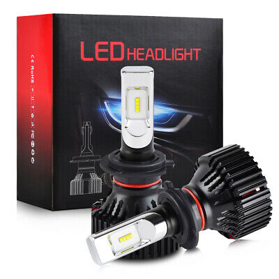 H7 For DS 2015-2018 LED Headlight High Low Beam 16000LM Super Bright 6500K Bulbs