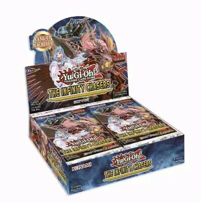 Yugioh Infinity Chasers 1St Edition Booster Box Factory Sealed 24 Packs English