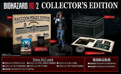 NEW PS4 BIOHAZARD RE:2 Z Version COLLECTOR'S EDITION JAPAN OFFICIAL IMPORT EMS