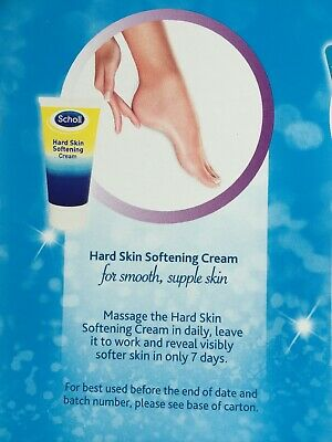 Scholl Hard Skin Softening Remover Cream With Salicylic and Lactic Acids 60ml