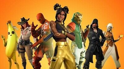 Fortnite Season 8 Peely Ps4 Xbox Gaming Poster Wall Art Picture Print Size A3