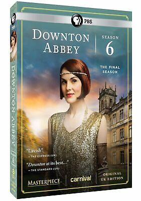 Masterpiece: Downton Abbey Season 6 (DVD, 2016, 3-Disc Set) DISC'S ONLY