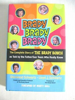 THE COMPLETE STORY OF THE BRADY BUNCH Book SIGNED by Sherwood & Lloyd Schwartz