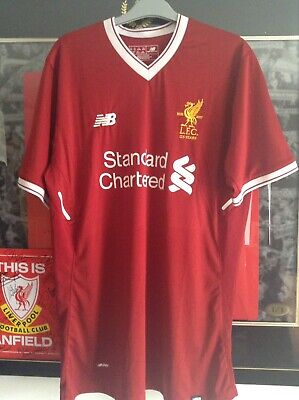 Liverpool FC 2017/2018 Rare Home Shirt Great Condition Size XL Football Top