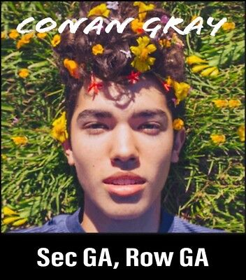 2 Tickets to Conan Gray 4/8/19 @ Bottom Lounge, Chicago IL