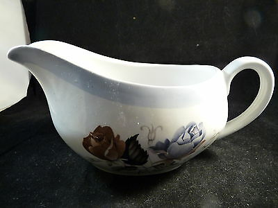 Vintage Alfred Meakin Gravy Sauce Boat Springwood Glo White England