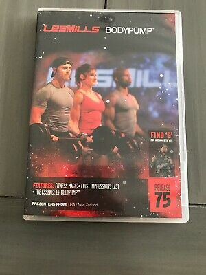 Les Mills BodyPump 75 Instructor Release Kit Music, DVD and Choreography