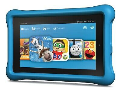 Amazon Kindle Fire HD 6 Kids Edition 8GB, Wi-Fi, 6in - Blue - Used VGC