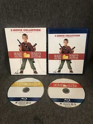 Home Alone / Home Alone 2: Lost in New York (2-Disc Blu-ray Box Set) Slipcover