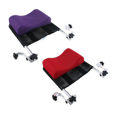 "2 Pcs 16""-20"" Wheelchair Headrest Neck Support Cushion With Back Handle Tube"
