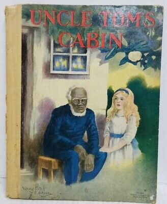 Rare Antique Early 1900s Uncle Toms Cabin Young Folks Edition Black Americana