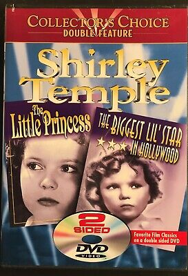 Shirley Temple the Little Princess Biggest Little Star in Hollywood (1999, DVD)