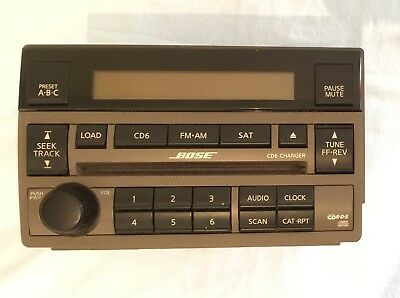 BOSE AM/FM 6CD CAR STEREO Model#28185.ZB20C 2004-2006 Nissan Altima for parts