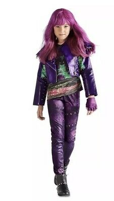 NEW DISNEY MAL Descendants 2 Deluxe Kids size 11/12 Maleficent Costume