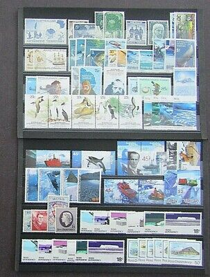 A.a.t & Ross Dependencies - Fine Collection Of Early Mnh Sets On Stockcards