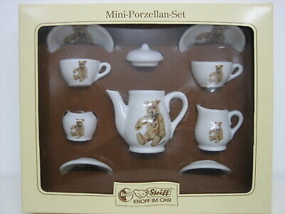 Original Steiff Mini - Porzellan - Set Dekor: Teddy Baby 1930,   613531