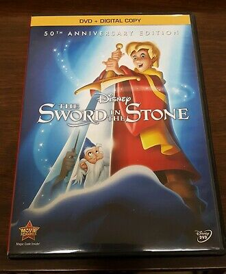 The Sword in the Stone (DVD, 2013, 50th Anniversary Edition) FREE SHIPPING!
