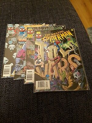 Amazing spiderman 413-417 vfn 4 issues
