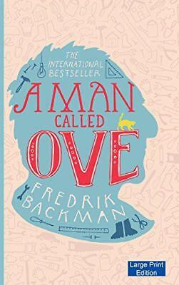 A Man Called Ove (Large Print Edition) by Backman, Fredrik, NEW Book, (Hardcover