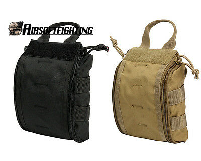 Tactical MOLLE EMT Medical First Aid Utility Pouch Survival Gear Hiking Camping