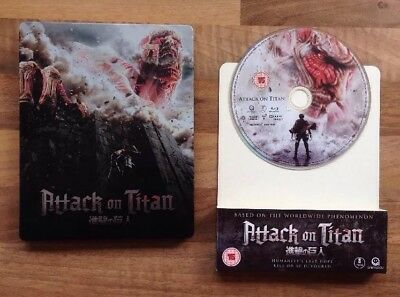 Attack On Titan - Oroignal Movie - Limited Blu Ray Steelbook - Rare & Deleted
