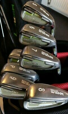 Wilson LCG Ladies golf club irons 5-SW graphite Prolaunch graphite womens shafts
