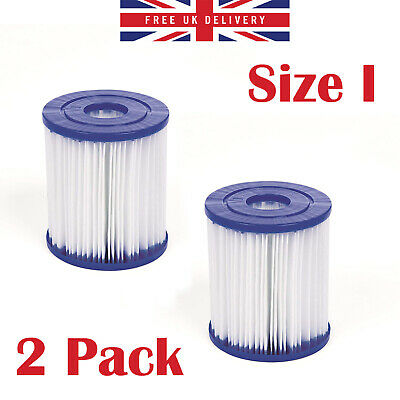 Swimming Pool Filter Cartridge Size I 3.1 x 3.5 Inches For Filter Pump TWIN PACK