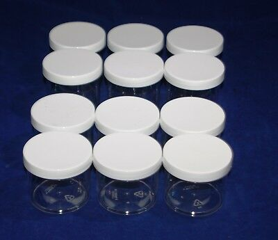 Clear Plastic 4 OZ or 6 OZ PET Empty Containers with lid-HOT BUY!