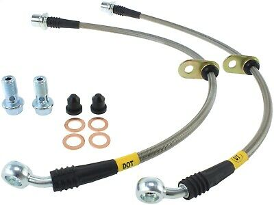 StopTech 950.44508 Stainless Steel Braided Brake Hose Kit Fits MR2 Spyder Yaris