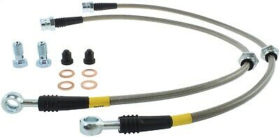 StopTech 950.33015 Stainless Steel Braided Brake Hose Kit