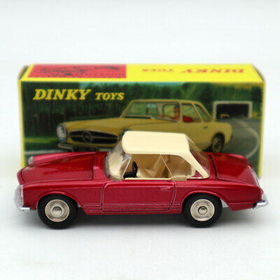 1:43 Scale Diecast Mercedes Benz 230 SL Rouge Dinky Toys 516 Toys Models Atlas