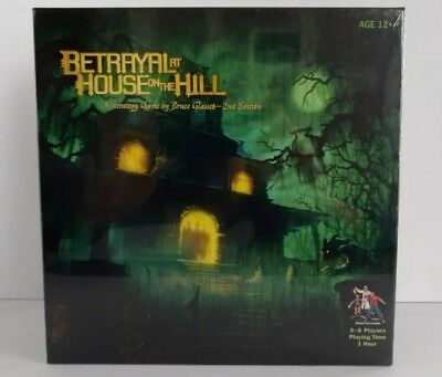 Betrayal At House On The Hill Strategy Game by Bruce Glassco 2nd Edition New