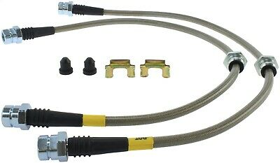StopTech 950.33024 Stainless Steel Braided Brake Hose Kit Fits 08-13 Golf R R32