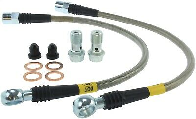 StopTech 950.33505 Stainless Steel Braided Brake Hose Kit Fits Allroad Quattro