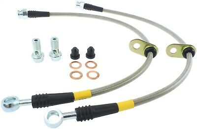 StopTech 950.40014 Stainless Steel Braided Brake Hose Kit Fits 06-14 Ridgeline