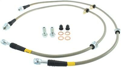 StopTech 950.46007 Stainless Steel Braided Brake Hose Kit Fits 08-15 Lancer