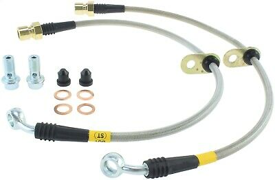 StopTech 950.62012 Stainless Steel Braided Brake Hose Kit Fits 10-15 Camaro